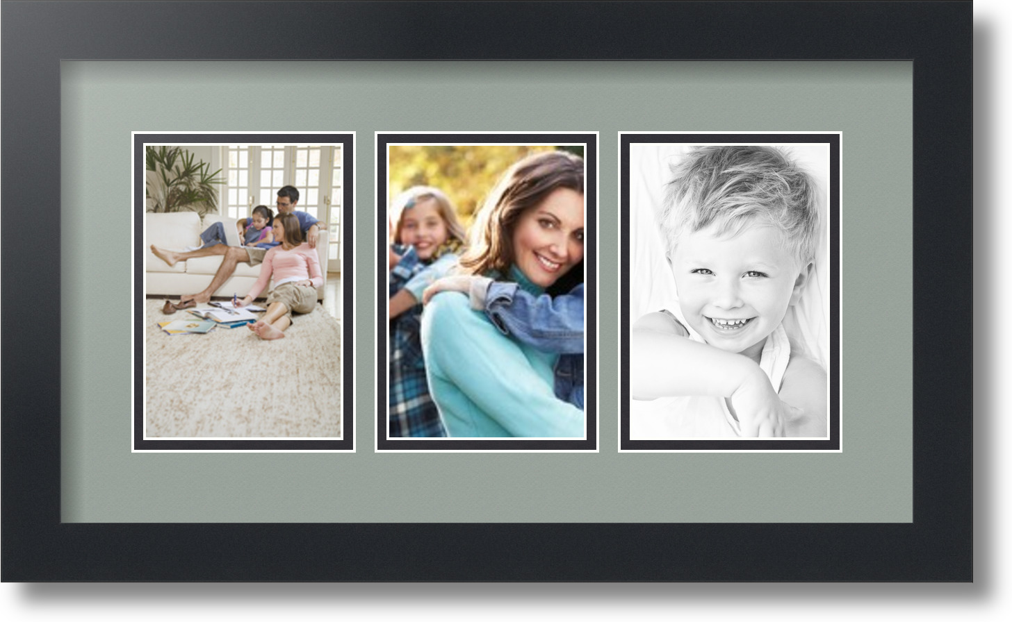 Arttoframes collage mat picture photo frame 3 4x6 openings in arttoframes collage mat picture photo frame 3 4x6 jeuxipadfo Gallery
