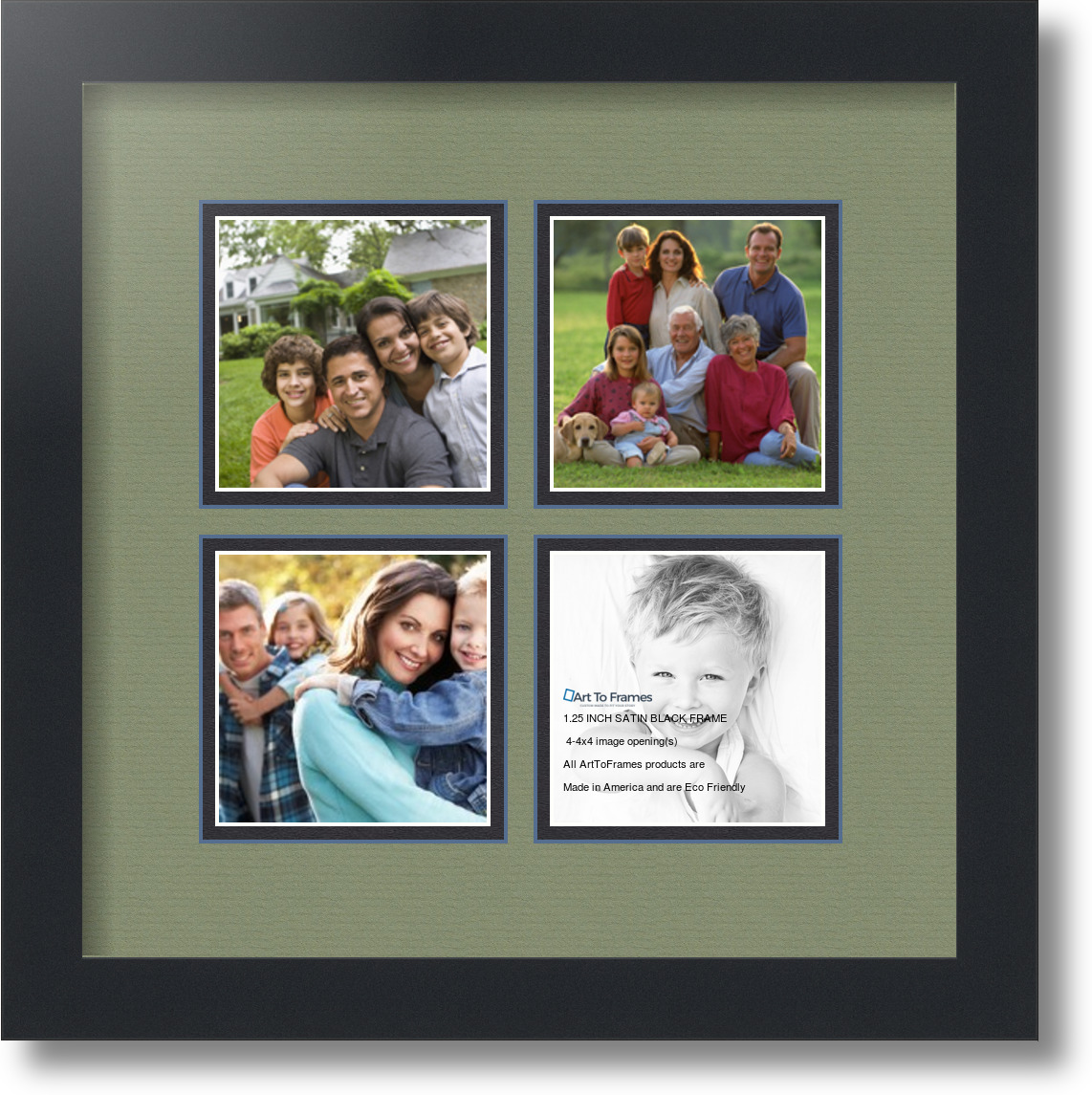 4x4 Picture Frame Collage