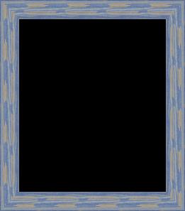 8x10 Deep Periwinkle Barnwood Style Frame 0066 56673 Yblu Main Image