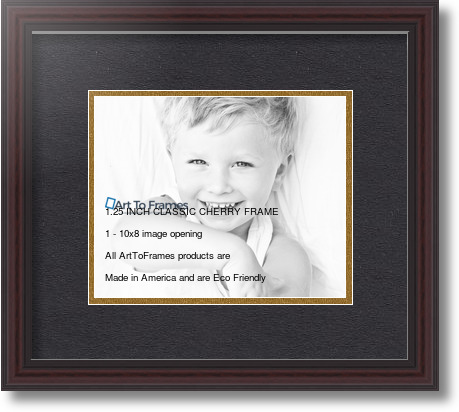 8x10 frames 14x12 Traditional Cherry with Steps collage picture ...