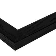 image 28x28 black stain on pine frame 0066 80206 yblk corner closeup image
