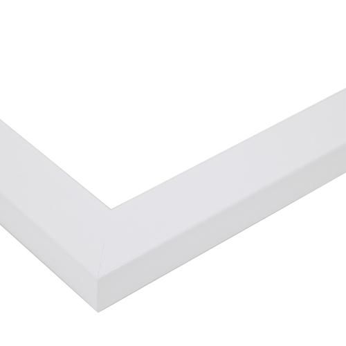 8x10 Satin White Frame picture frame