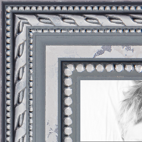 8x10 Ornate SIlver picture frame