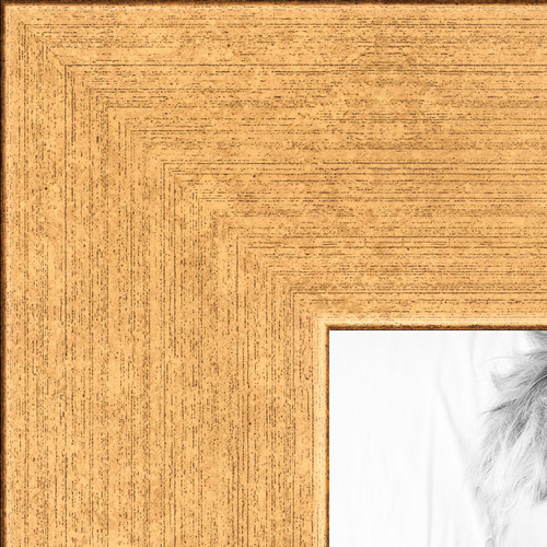 8x10 classic gold picture frame with regular glass