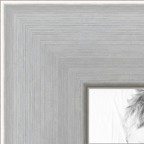 8x10 Chrome Stainless Steel Picture Frame